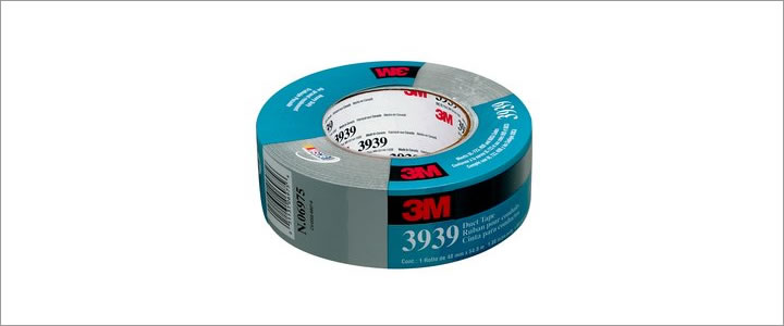3M # 3939 Heavy Duty Silver Duct Tape – Adheco Ltd